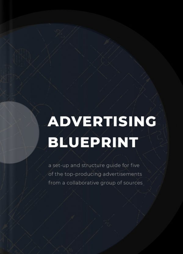 Marketing Guide 1 Top 5 Highest Producing Advertising Blueprints. Includes: 5 - Images/Art Direction for the image or creative requirement. 5 - Copy and Text Templates - specifically tailed to drive conversions and lead generation. Targeting Instructions for Facebook Ad creation, including behaviors, demographics, and geographical locations (geo-targeting).