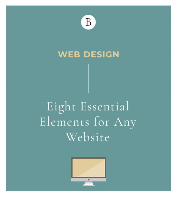 Eight Essential Elements For Any Website