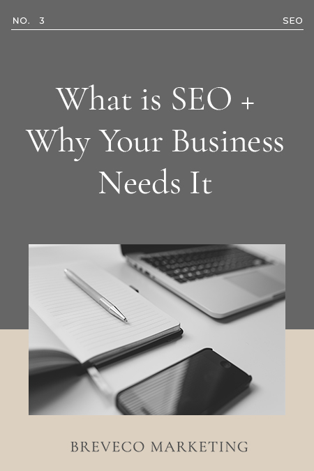 What is SEO + Why Your Business Needs It 1 Consumers have a world of information accessible to them with the swipe a finger. Successful SEO is how you make sure your content gets to them first.
