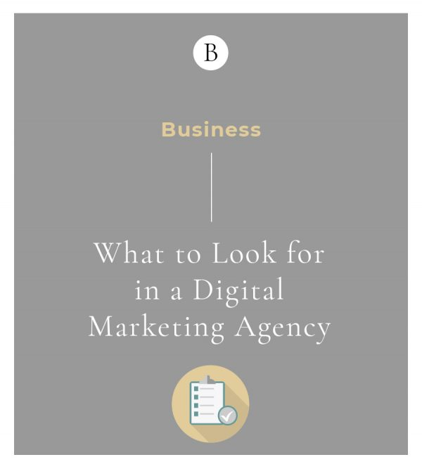 What to Look for in a Digital Marketing Agency