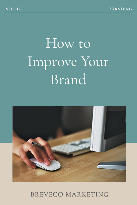 Improve Your Brand