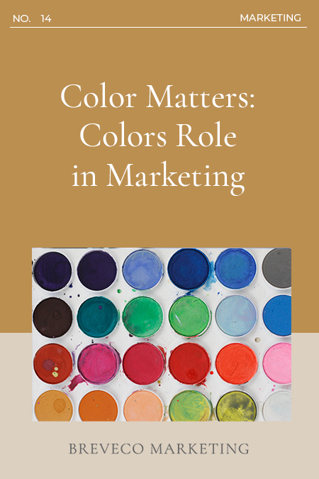 Color Matters: Colors Role in Marketing